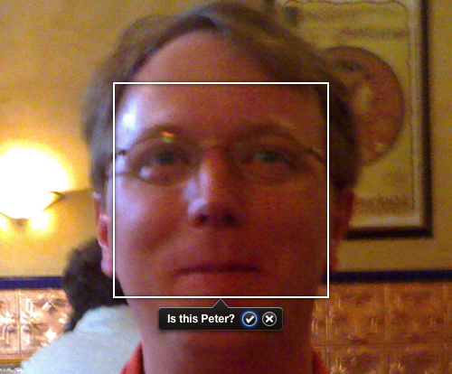 iPhoto '09 Faces Feature