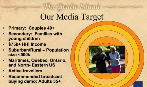 Tourism PEI Marketing Plan slide