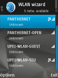 SSIDs at UPEI