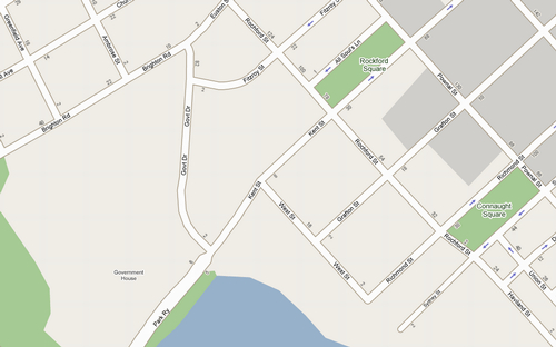 Google Maps in Charlottetown