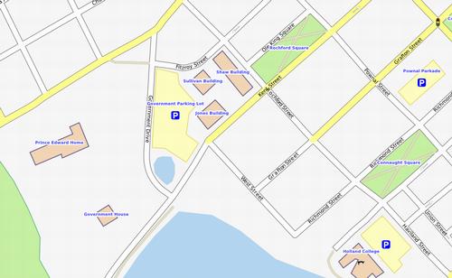 OpenStreetMap in Charlottetown