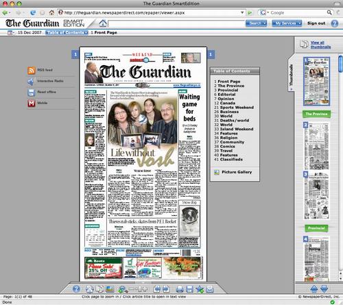 The Guardian  Smart Edition' screen shot