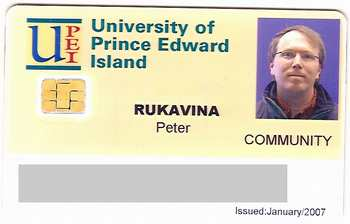 My UPEI Library Card