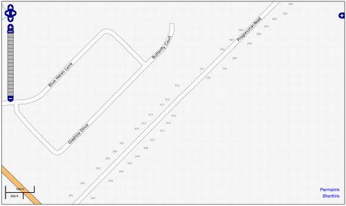 OpenStreetMap screen shot