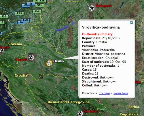 H5N1 in Croatia