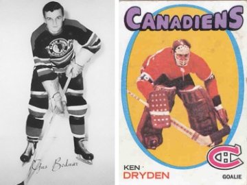 Gus Bodnar and Ken Dryden