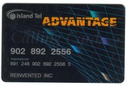 Island Tel Calling Card