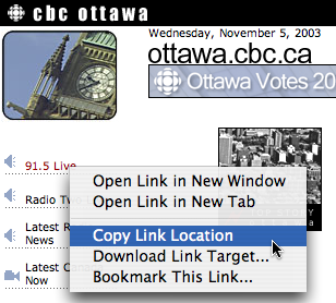CBC stream recording with Audio Hijack, Step One Bee