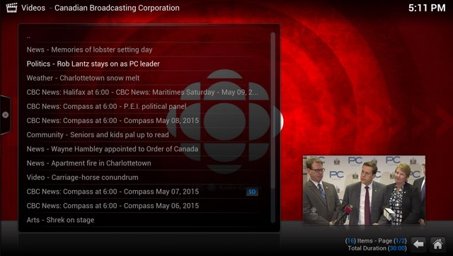 CBC PEI Shows