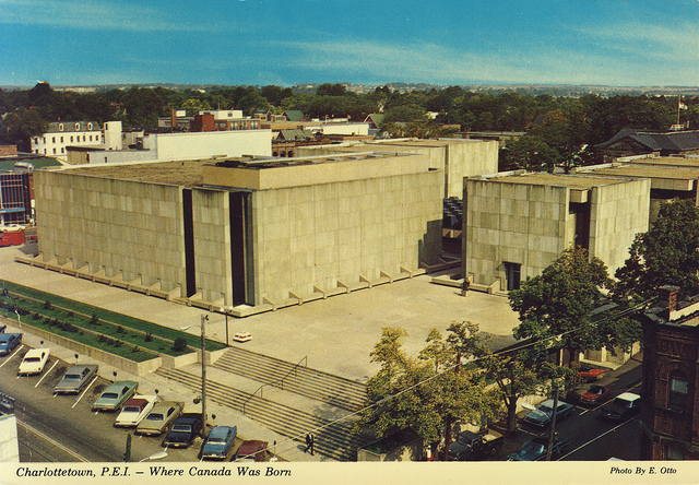 Confederation Centre of the Arts Postcard