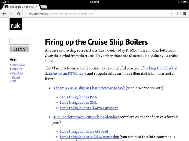 Chrome iOS Screen Shot