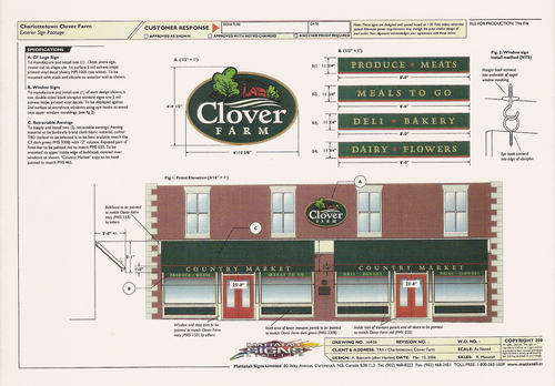 New Clover Farm Artist's Rendering