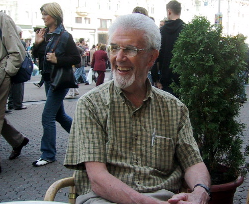 Norm Rukavina in Zagreb, October 2004
