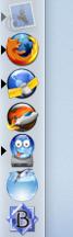 Screen Shot of Mac OS X dock
