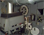 Brackley Drive-in Projection Room