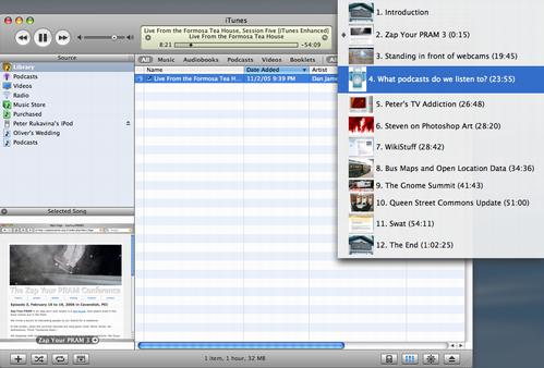 iTunes Screen Snap