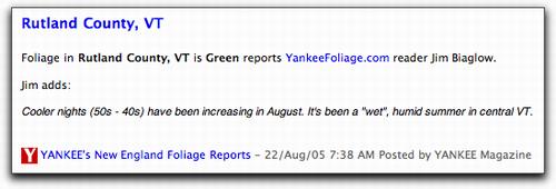 Foliage RSS Feeds in NetNewsWire