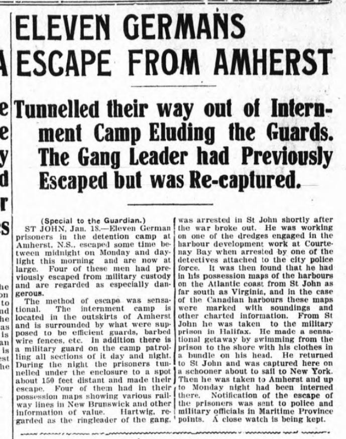 Story from The Guardian cover, Jan. 19, 1916