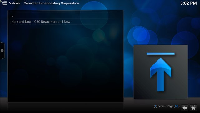 Here and Now in Kodi