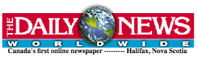 Halifax Daily News website banner from 1997