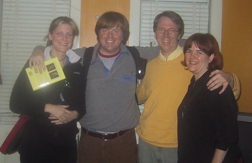 Ian Williams and Tessa Blake, Peter Rukavina and Catherine Miller
