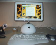 My iMac on My Desk