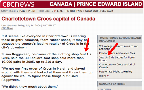 cbc.ca screen shot