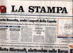 La Stampa Cover
