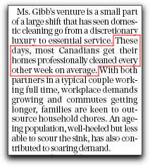 Snip from National Post, January 10, 2004