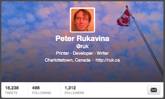 New Twitter Header