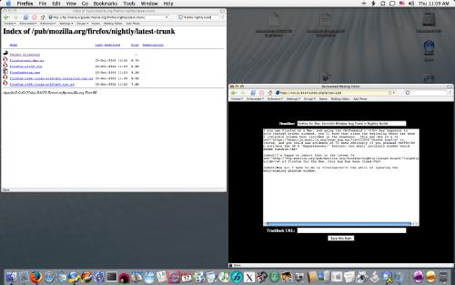 Mac OS X Screen Shot showing No Phantom Window!