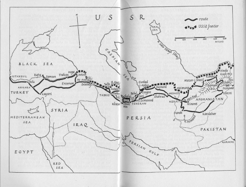 Route Map for Offbeat in Asia, Small