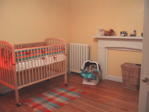 Oliver's Room, Just Before He Was Born
