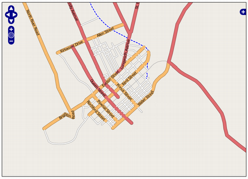 OpenStreetMap Screen Shot