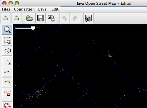 JOSM Editor Screen Shot