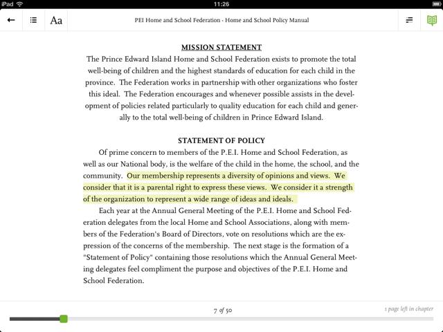 Readmill iPad App
