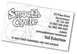Smooth Cycle Business Card