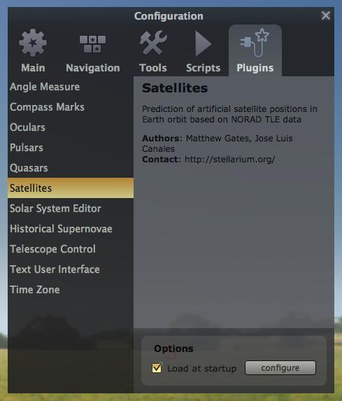 Stellarium Screen Shot