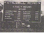 Stillwell Road Sign