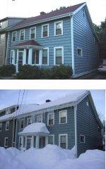 100 Prince Street -- Summer 2000 vs. Winter 2001