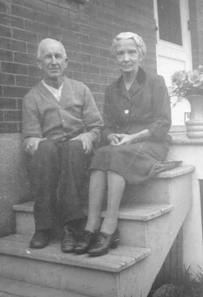 Alexander and Agnes Elizabeth Jane Fraser