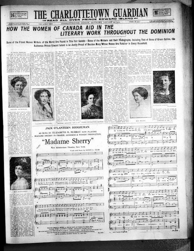 The Charlottetown Guardian, January 20, 1912