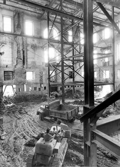 Inside the Truman Reconstruction of The White House