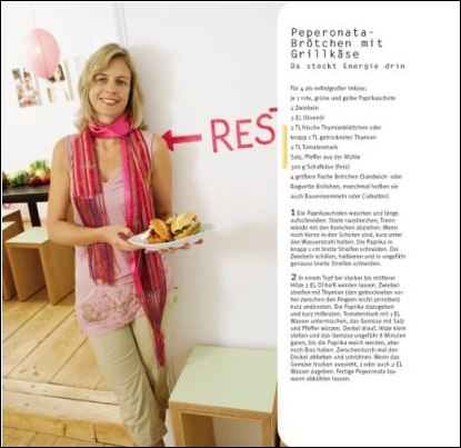 Page Sample from Vegetarian Basics