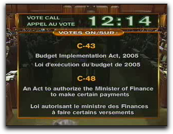 Parliament Webcast Screen Shot