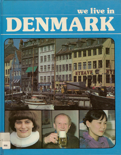 Cover of We Live in Denmark book