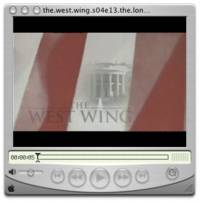 West Wing in QuickTime Player