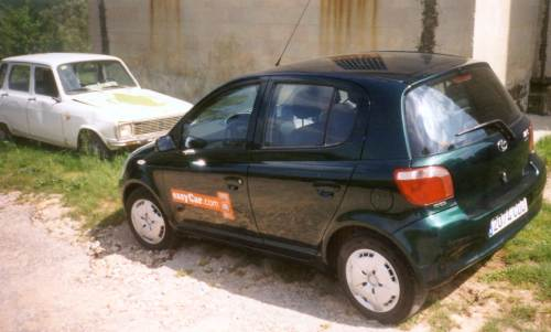 Toyota Yaris in Spain