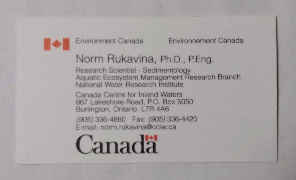 Business card number 3