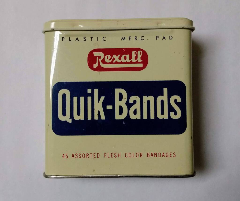 Quik-Bands Tin